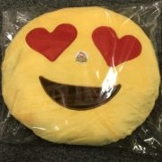 CifToys Emoji Smiley Emoticon Yellow Round Cushion Stuffed Plush Soft Pillow