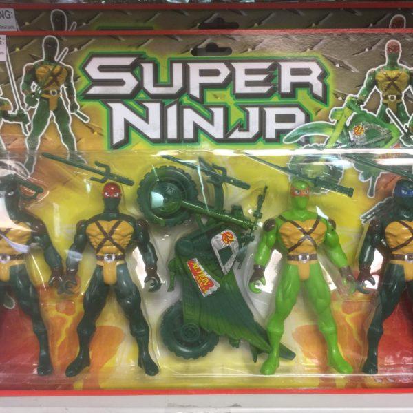 CifToys Super Ninja Children Action Figure Play Set
