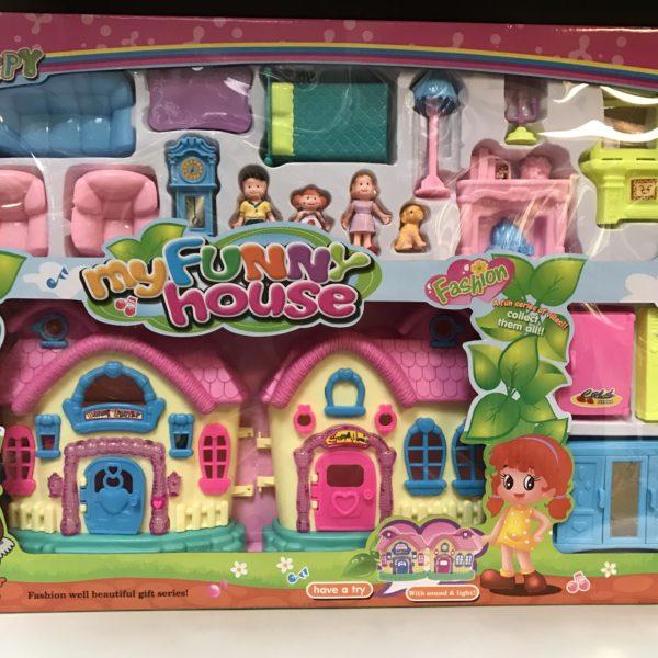 CifToys My Funny House- Family Pretend Play