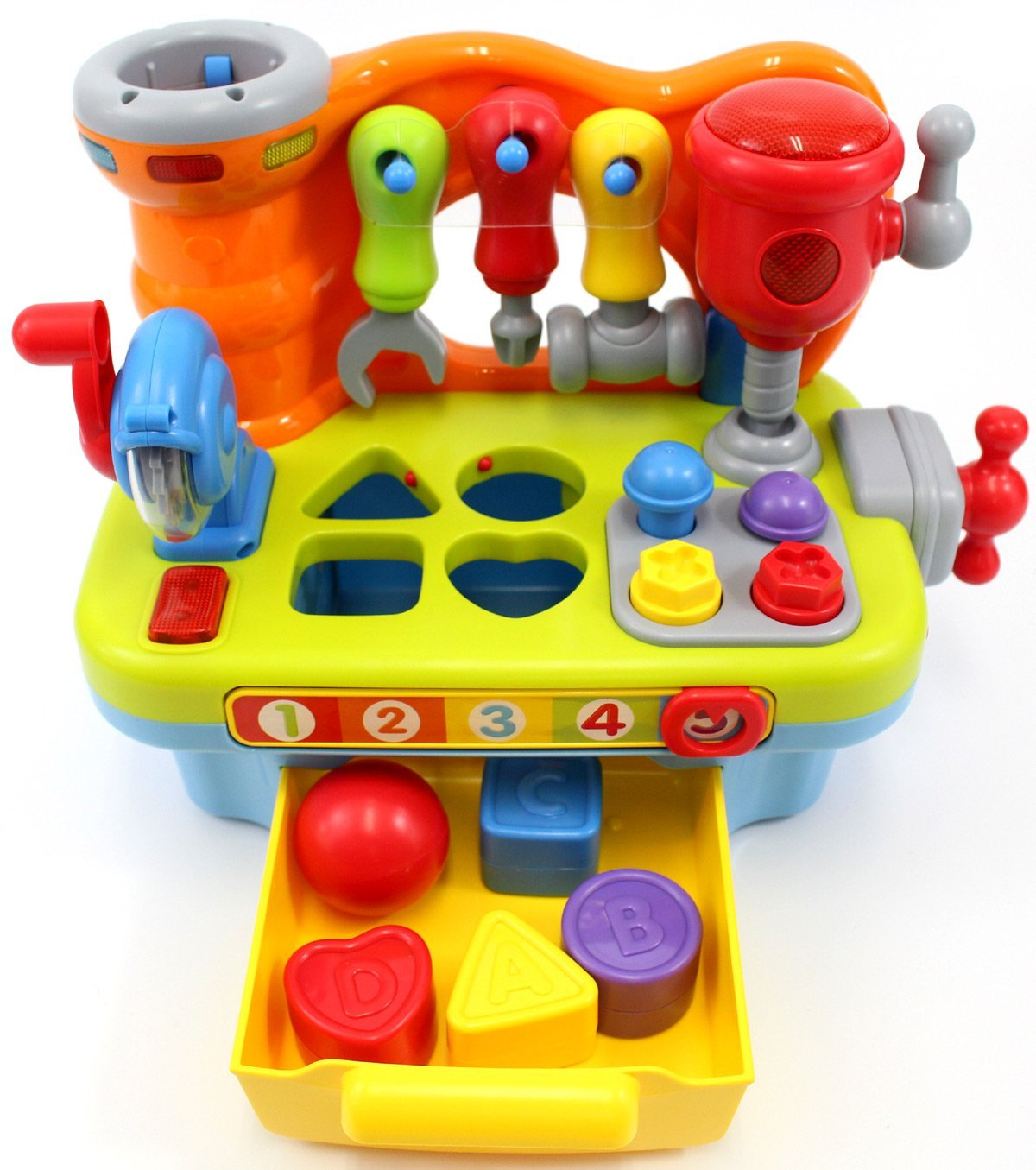 Ciftoys Musical Learning Workbench Toy For Children
